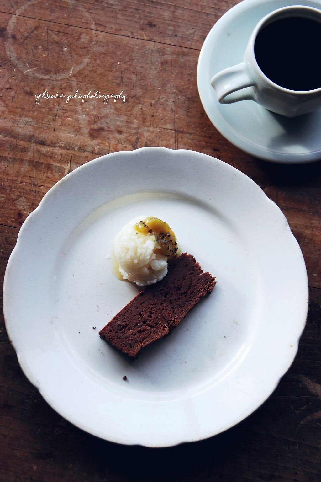 """Photo of Cafe Millet  by <a href=""""/members/profile/YukiLim"""">YukiLim</a> <br/>Chocolate cake and amazake ice cream for dessert from Cafe Millet <br/> July 16, 2017  - <a href='/contact/abuse/image/64558/280877'>Report</a>"""