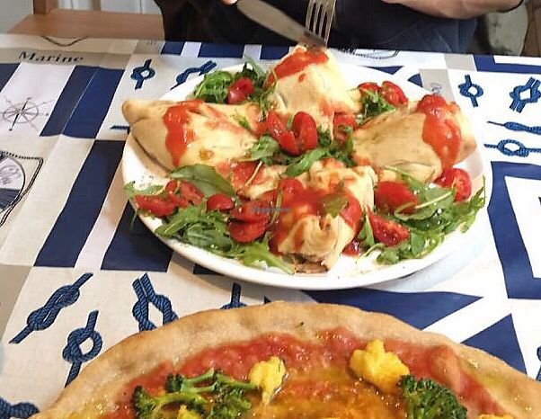 """Photo of Pizzata  by <a href=""""/members/profile/12ebner"""">12ebner</a> <br/>Vegane Blumen Pizza <br/> April 8, 2018  - <a href='/contact/abuse/image/64568/382602'>Report</a>"""