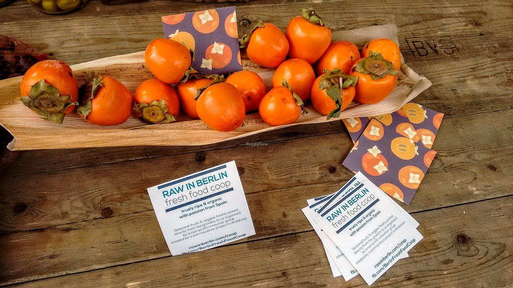 "Photo of Raw in Berlin Fresh Food-Coop  by <a href=""/members/profile/springhuepfer"">springhuepfer</a> <br/>Small type of persimmon.  <br/> November 9, 2015  - <a href='/contact/abuse/image/64614/124431'>Report</a>"