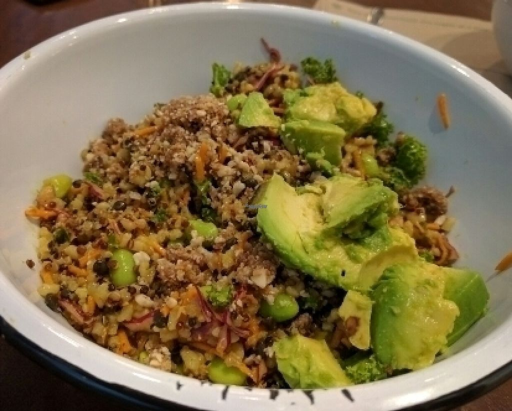 "Photo of Sweetgrass Food Co  by <a href=""/members/profile/The%20Hungry%20Vegan"">The Hungry Vegan</a> <br/>Buddha Bowl <br/> August 26, 2016  - <a href='/contact/abuse/image/64647/233087'>Report</a>"