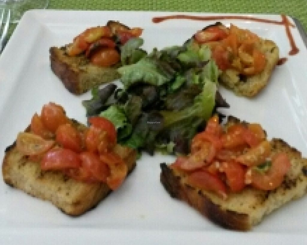 """Photo of Passione d'Italia  by <a href=""""/members/profile/napalm"""">napalm</a> <br/>bruschetta and olive bread/pesto <br/> October 19, 2015  - <a href='/contact/abuse/image/64653/240975'>Report</a>"""
