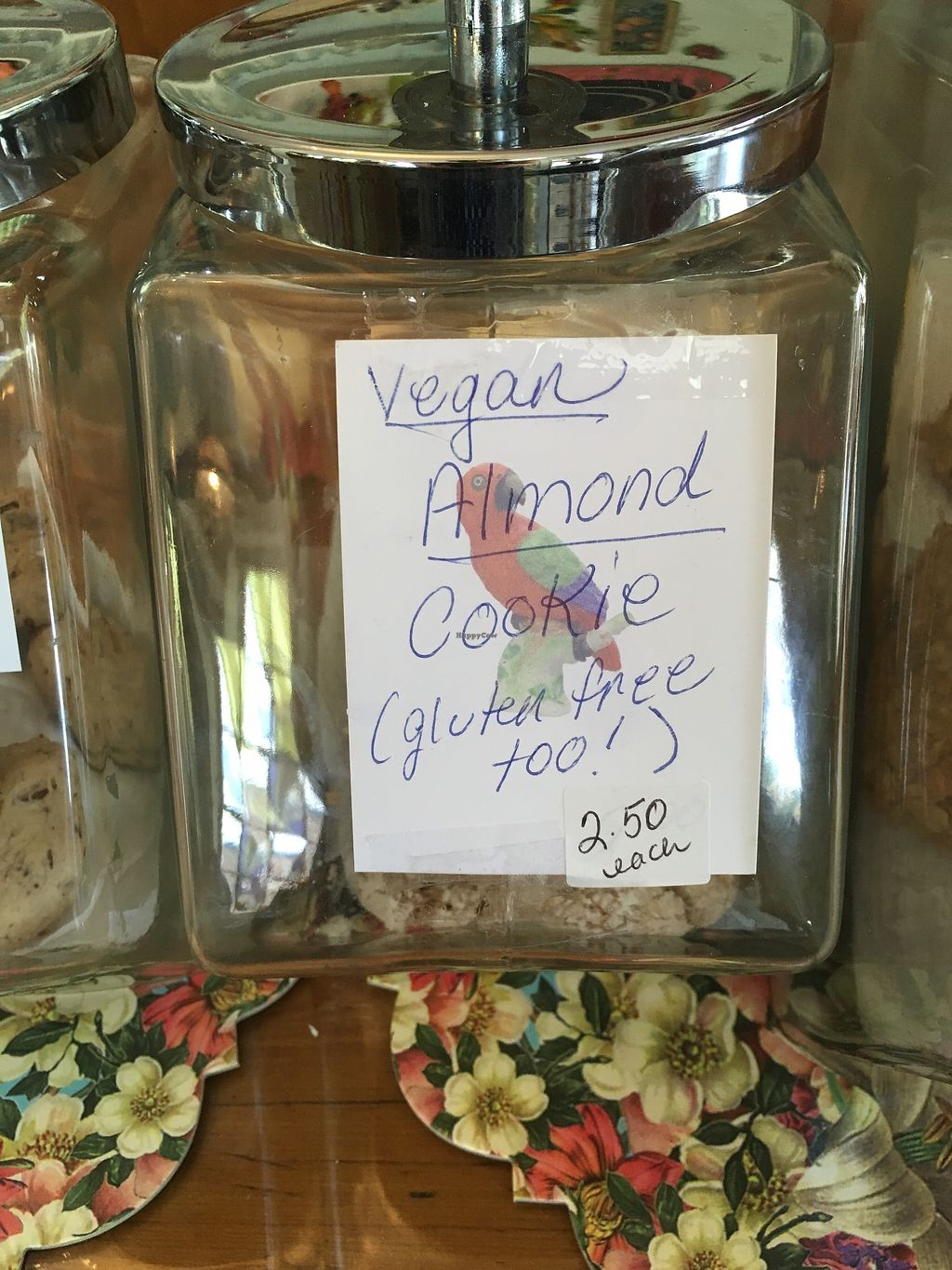 "Photo of Desert Rose Cafe  by <a href=""/members/profile/Cat_Mamma"">Cat_Mamma</a> <br/>Vegan cookies! <br/> July 4, 2017  - <a href='/contact/abuse/image/64661/276511'>Report</a>"