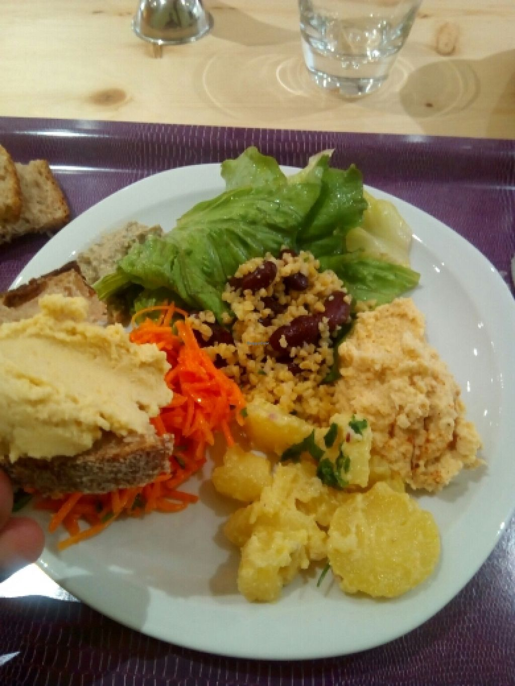 """Photo of La Jasette  by <a href=""""/members/profile/LeoLeSter"""">LeoLeSter</a> <br/>buffet. all vegan  <br/> June 11, 2016  - <a href='/contact/abuse/image/64686/153414'>Report</a>"""