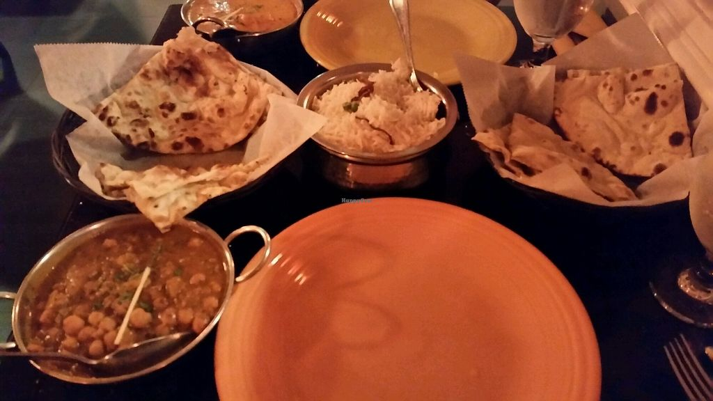 """Photo of Taste of India  by <a href=""""/members/profile/TheCopperValkyrie"""">TheCopperValkyrie</a> <br/>channa masala and roti <br/> August 22, 2017  - <a href='/contact/abuse/image/64689/295433'>Report</a>"""