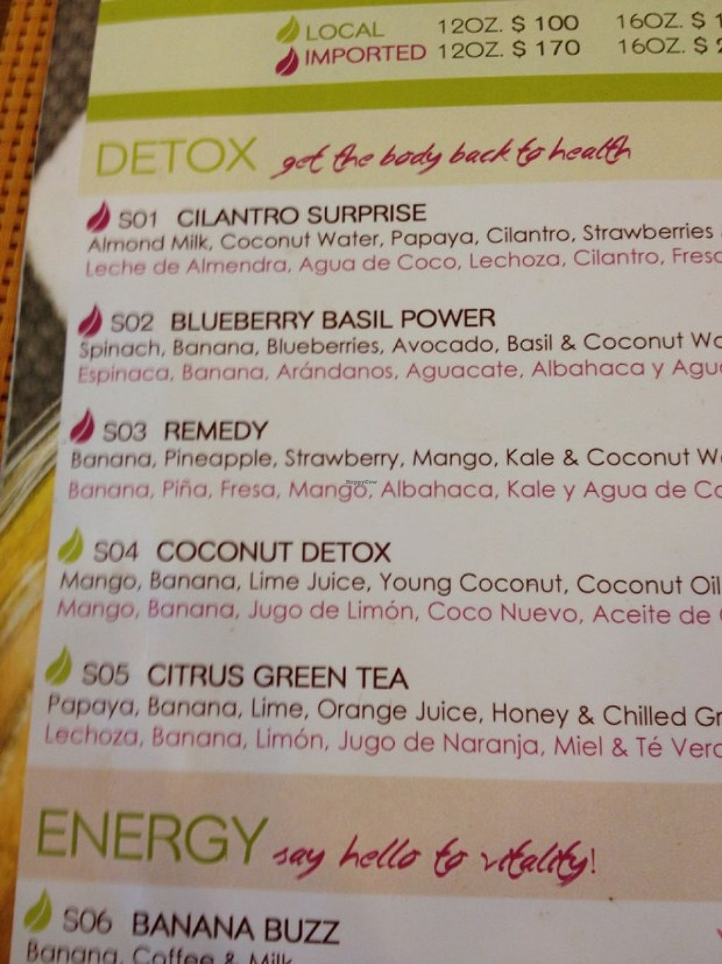 """Photo of Fresh Fresh  by <a href=""""/members/profile/Veg-Predilection"""">Veg-Predilection</a> <br/>example of 1 smoothie page <br/> October 20, 2015  - <a href='/contact/abuse/image/64742/121965'>Report</a>"""