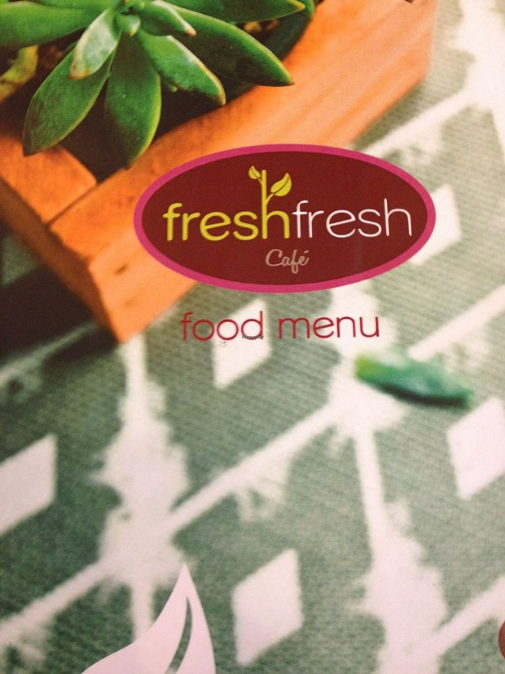 """Photo of Fresh Fresh  by <a href=""""/members/profile/Veg-Predilection"""">Veg-Predilection</a> <br/>Menu Cover <br/> October 20, 2015  - <a href='/contact/abuse/image/64742/121966'>Report</a>"""