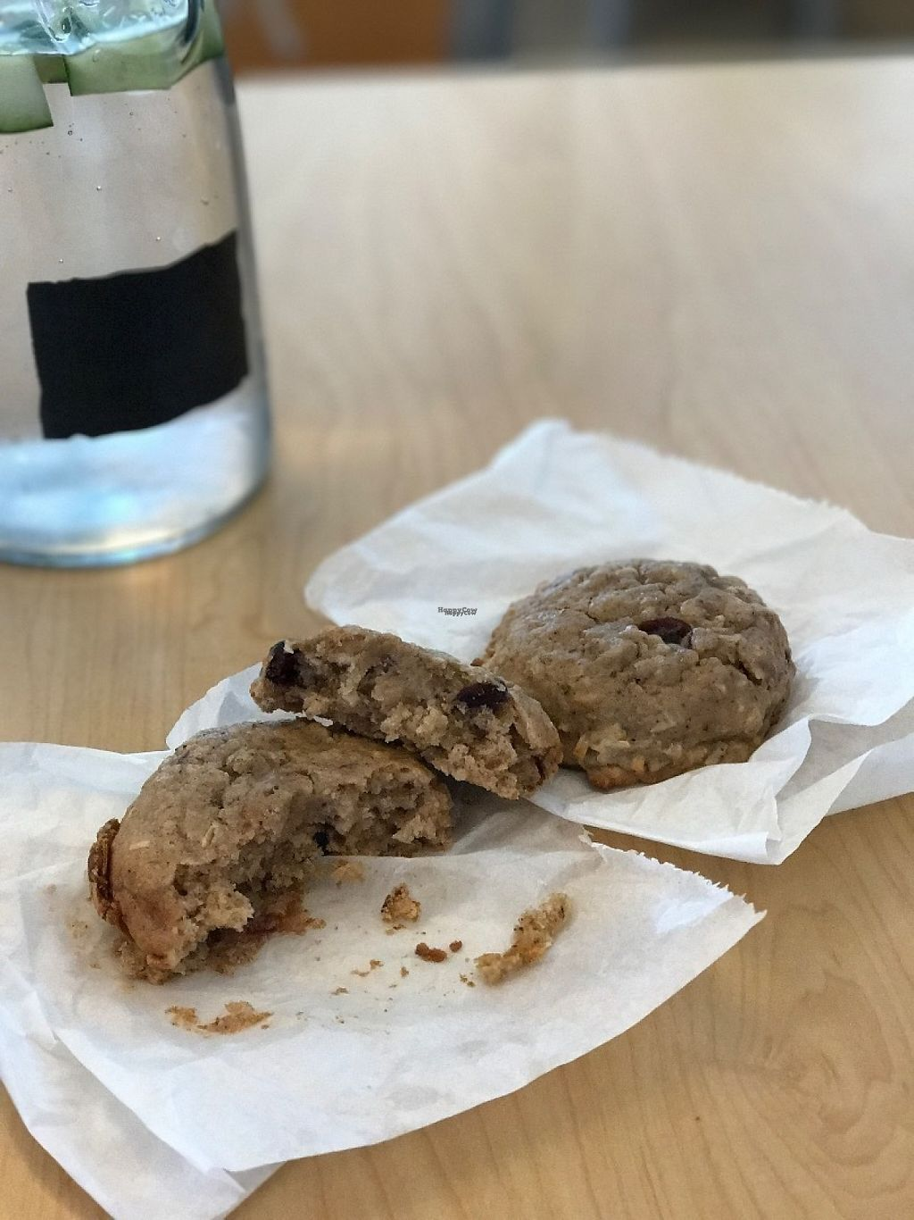 """Photo of Wild Rabbit Cafe and Health Bar  by <a href=""""/members/profile/DillonAbraham"""">DillonAbraham</a> <br/>Coconut Rasberry cookie <br/> February 14, 2017  - <a href='/contact/abuse/image/64764/226390'>Report</a>"""