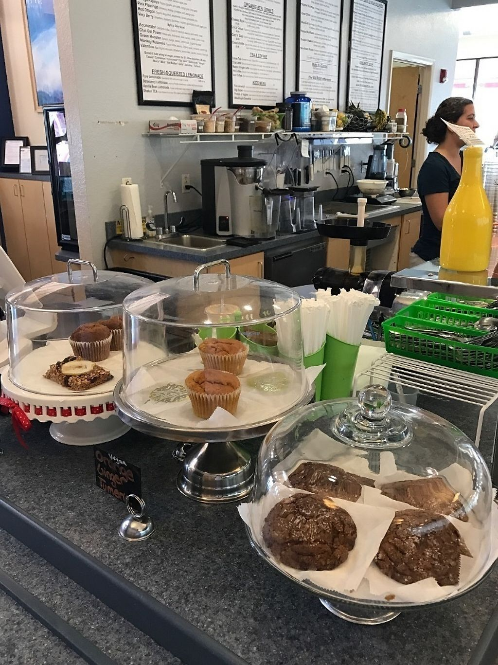 """Photo of Wild Rabbit Cafe and Health Bar  by <a href=""""/members/profile/DillonAbraham"""">DillonAbraham</a> <br/>Wonderfully ever-changing seasonal bar. Baked goods and produce.  <br/> February 14, 2017  - <a href='/contact/abuse/image/64764/226393'>Report</a>"""