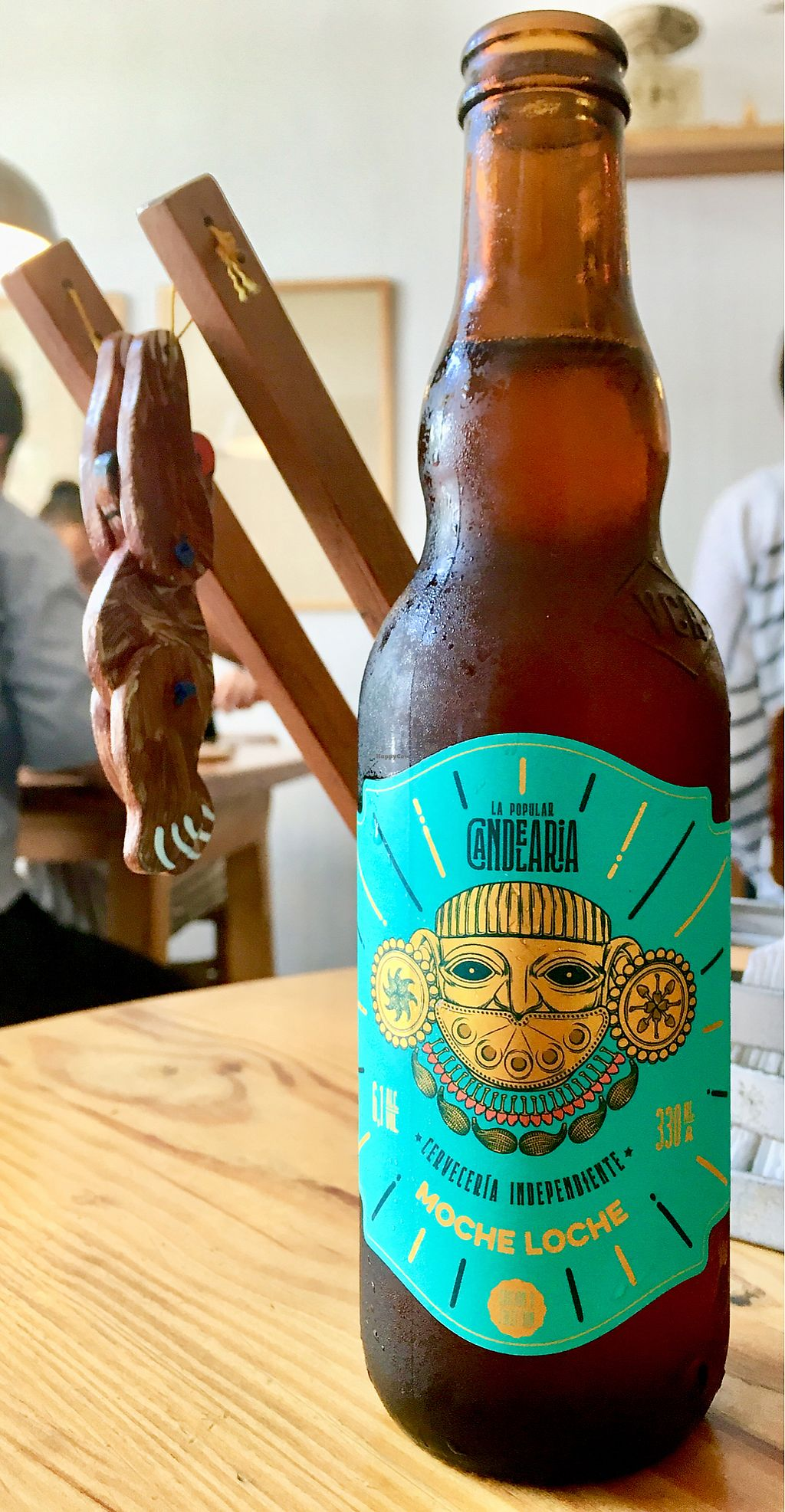 """Photo of La Verde  by <a href=""""/members/profile/milos99"""">milos99</a> <br/>A variety of wines and craft beers - this one is Peruvian! <br/> March 27, 2018  - <a href='/contact/abuse/image/64792/376876'>Report</a>"""