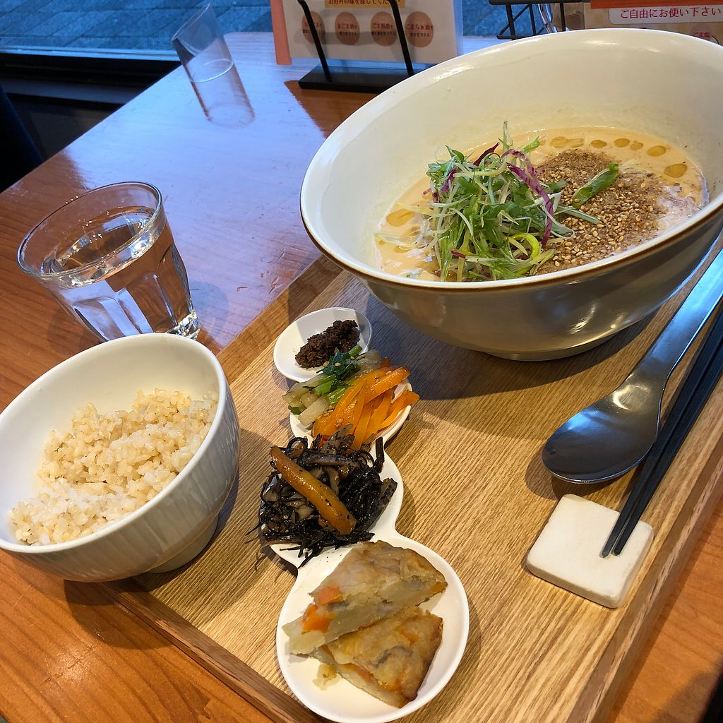 """Photo of Gomacro  by <a href=""""/members/profile/earthville"""">earthville</a> <br/>Daily special noodles set menu <br/> February 1, 2018  - <a href='/contact/abuse/image/64801/353501'>Report</a>"""