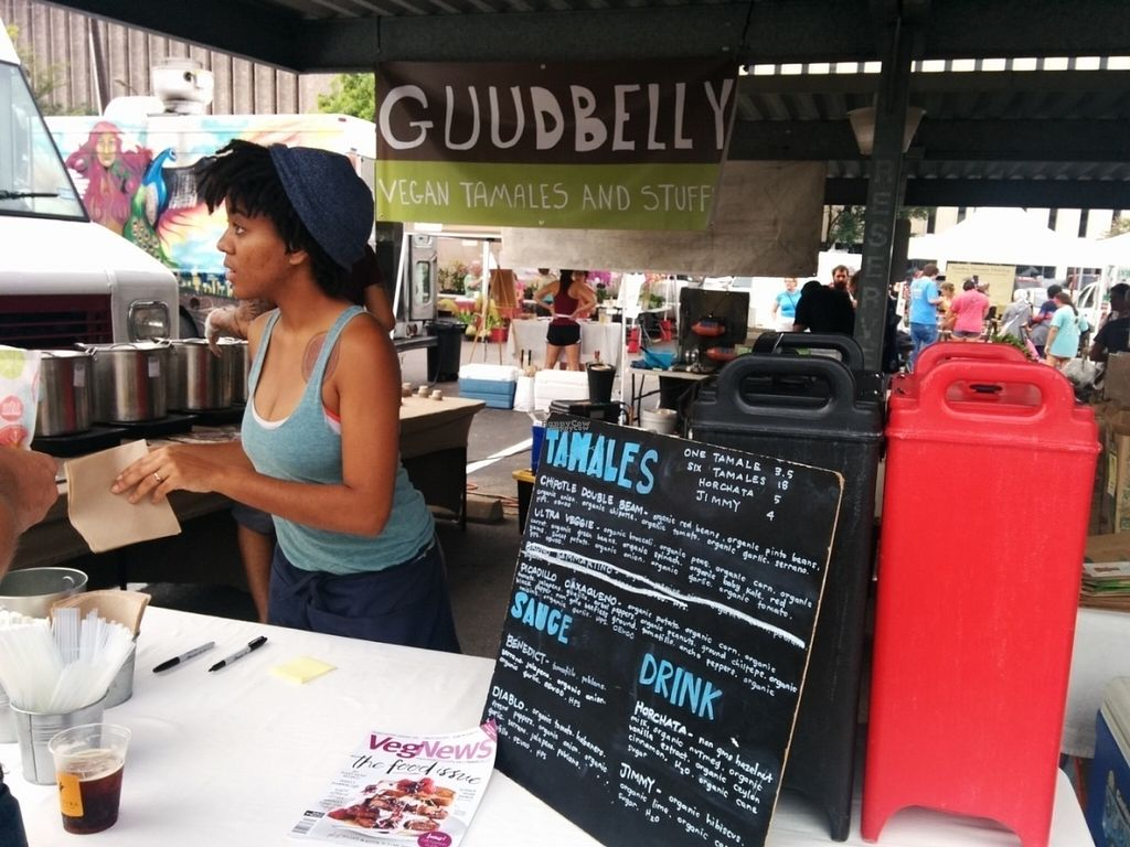 """Photo of CLOSED: Guudbelly  by <a href=""""/members/profile/MizzB"""">MizzB</a> <br/>Menu at Saturday market <br/> August 28, 2016  - <a href='/contact/abuse/image/64880/171908'>Report</a>"""