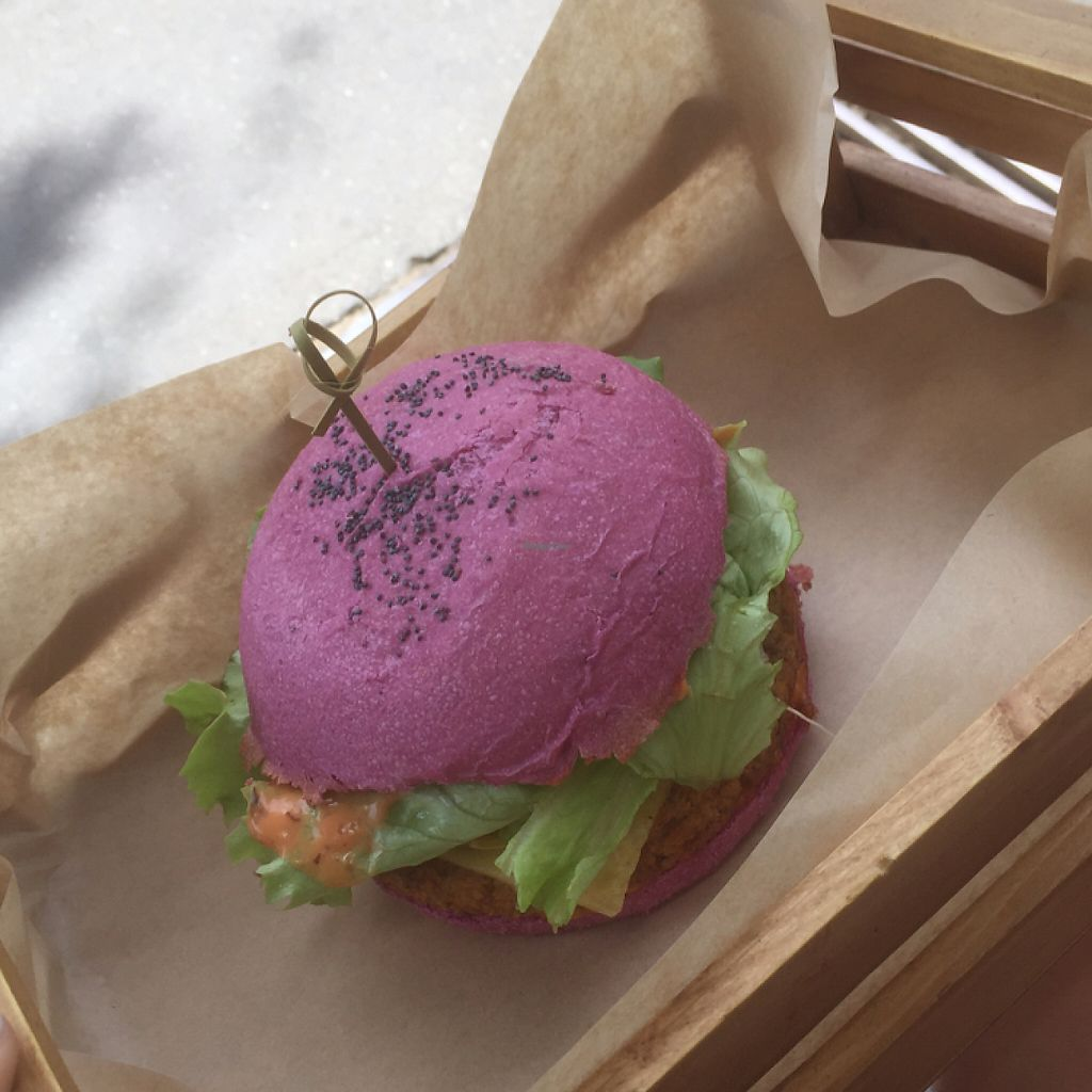 """Photo of Flower Burger  by <a href=""""/members/profile/drstina"""">drstina</a> <br/>cherry bomb burger <br/> May 24, 2017  - <a href='/contact/abuse/image/64889/261900'>Report</a>"""