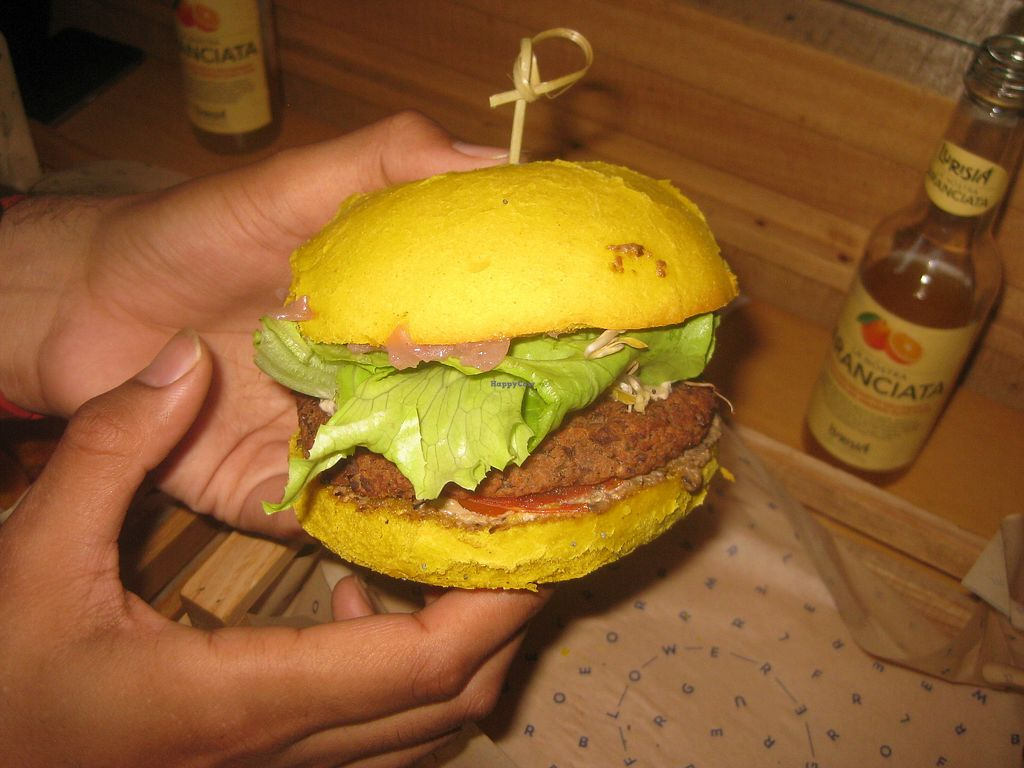 """Photo of Flower Burger  by <a href=""""/members/profile/jennyc32"""">jennyc32</a> <br/>Oliseitan burger <br/> July 27, 2017  - <a href='/contact/abuse/image/64889/285518'>Report</a>"""