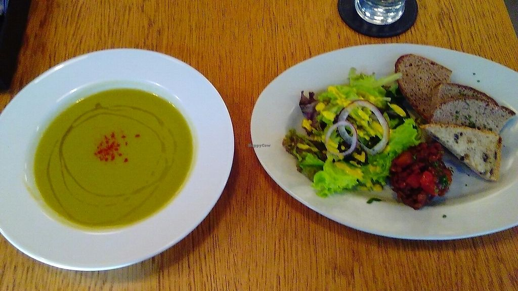 """Photo of Restaurant 8ablish  by <a href=""""/members/profile/Mika2"""">Mika2</a> <br/>tea time soup and salad! <br/> May 14, 2017  - <a href='/contact/abuse/image/64910/258599'>Report</a>"""