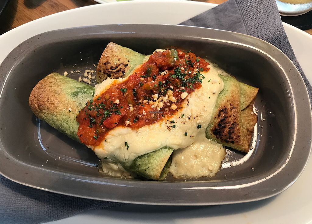 """Photo of Restaurant 8ablish  by <a href=""""/members/profile/Rothkored"""">Rothkored</a> <br/>Enchiladas  <br/> August 15, 2017  - <a href='/contact/abuse/image/64910/292892'>Report</a>"""
