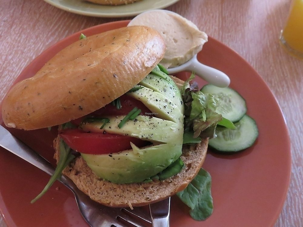 """Photo of Bagels & Beans  by <a href=""""/members/profile/TrudiBruges"""">TrudiBruges</a> <br/>Bagel with avocado, Alkmaar <br/> November 28, 2017  - <a href='/contact/abuse/image/64943/330039'>Report</a>"""