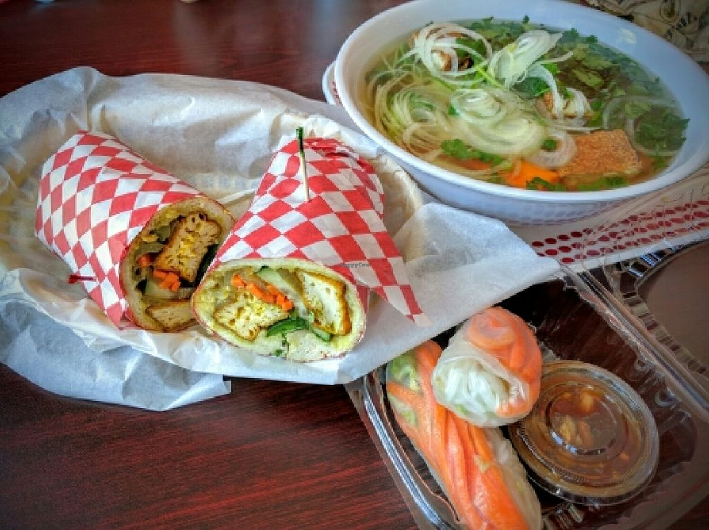 Photo of Hot Banh Vietnamese Sandwiches  by Navegante <br/>Vegan food, Apr 2016 <br/> April 13, 2016  - <a href='/contact/abuse/image/64955/144462'>Report</a>