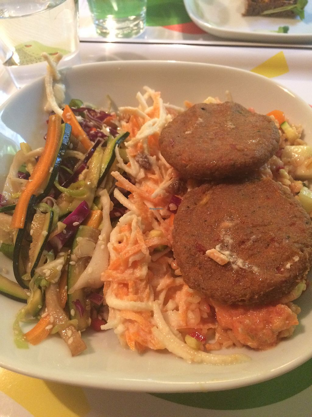 """Photo of Shanti  by <a href=""""/members/profile/JMTurner"""">JMTurner</a> <br/>Large salad with veggie patties  <br/> July 16, 2017  - <a href='/contact/abuse/image/64980/280963'>Report</a>"""