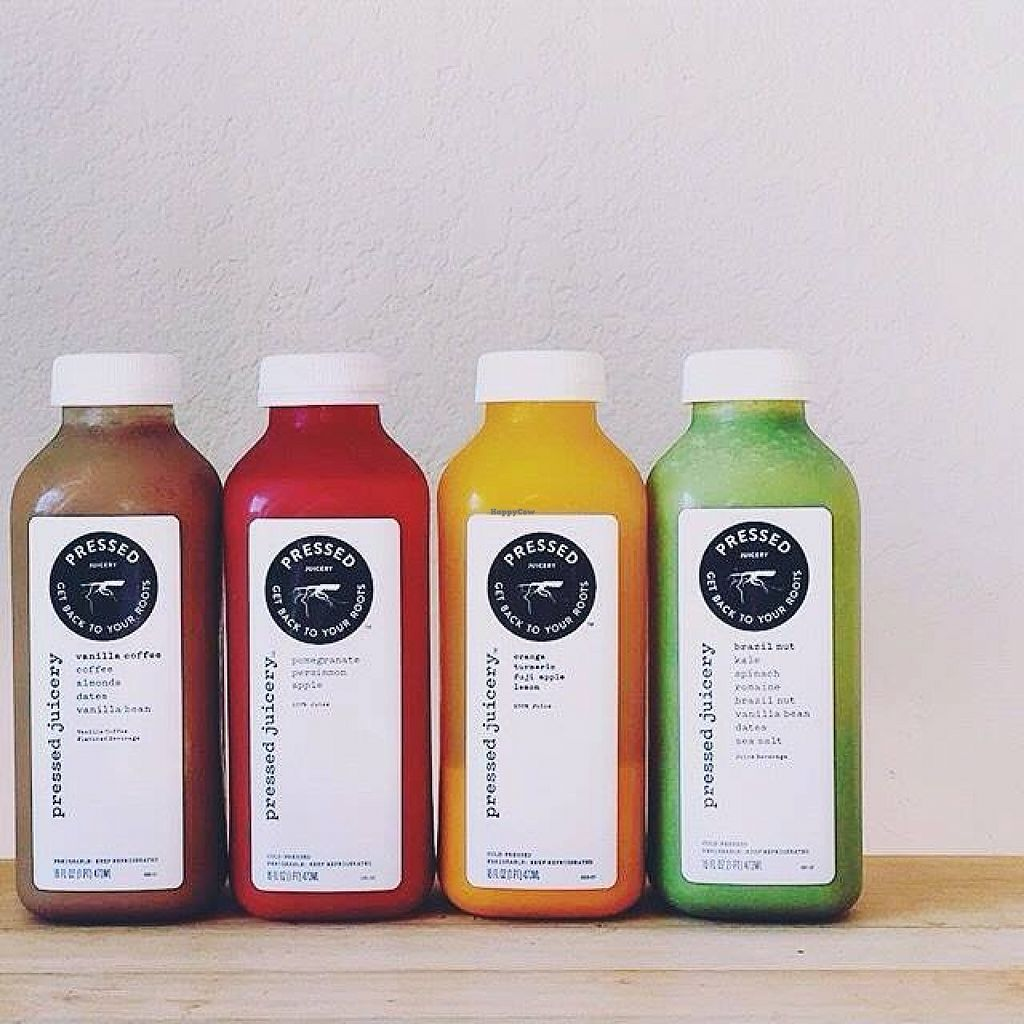 """Photo of Pressed Juicery  by <a href=""""/members/profile/community"""">community</a> <br/>fresh pressed juices  <br/> November 2, 2015  - <a href='/contact/abuse/image/64995/123616'>Report</a>"""