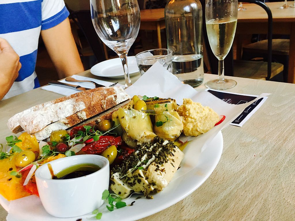 """Photo of Espresso Library  by <a href=""""/members/profile/JamesDowns"""">JamesDowns</a> <br/>Vegan tapas! So good ?  <br/> September 7, 2017  - <a href='/contact/abuse/image/65013/301749'>Report</a>"""