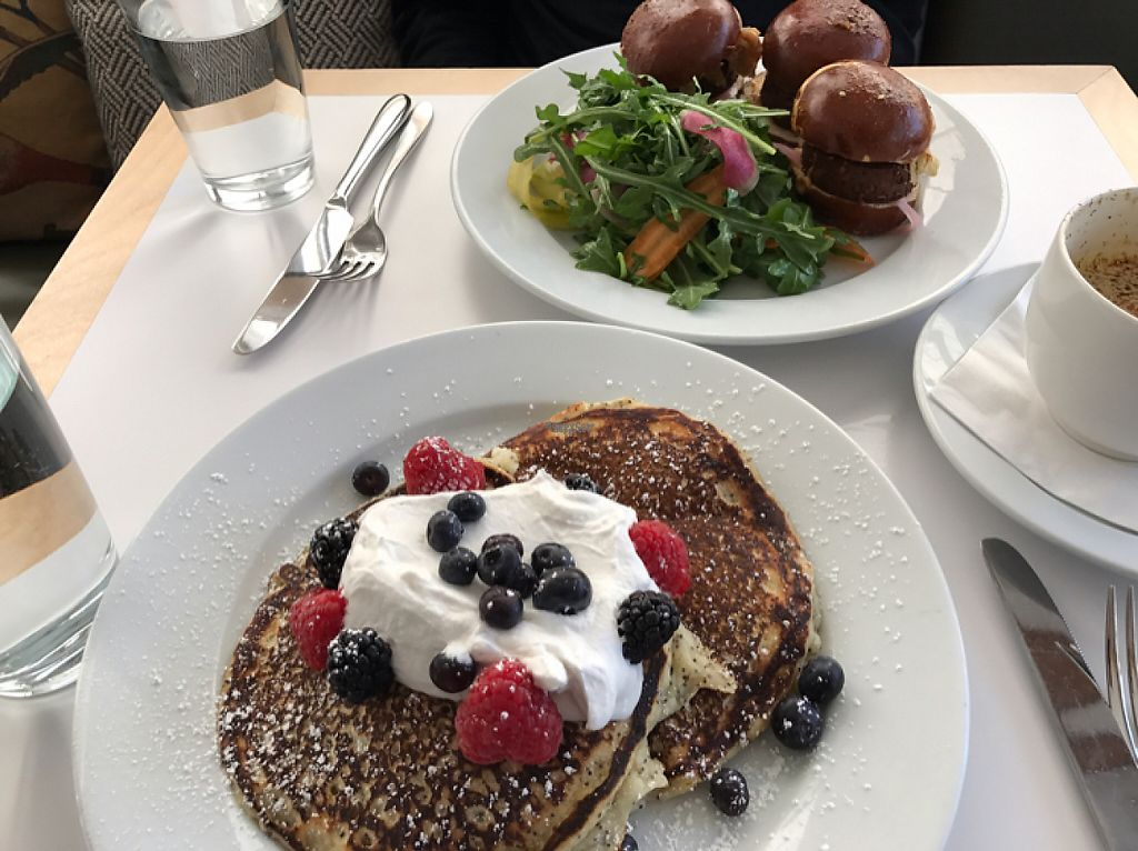 """Photo of Little Pine  by <a href=""""/members/profile/NSmoke"""">NSmoke</a> <br/>Lemon Poppyseed Pancakes & Sausage Sliders! <br/> January 30, 2017  - <a href='/contact/abuse/image/65034/219510'>Report</a>"""