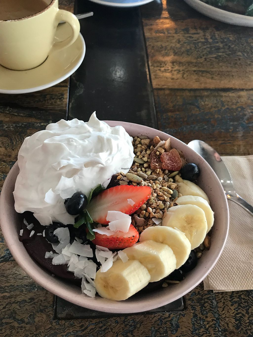"""Photo of Miss Bliss Wholefoods Kitchen  by <a href=""""/members/profile/LolaNachtigall"""">LolaNachtigall</a> <br/>Acai Bowl <br/> April 30, 2018  - <a href='/contact/abuse/image/65037/392978'>Report</a>"""