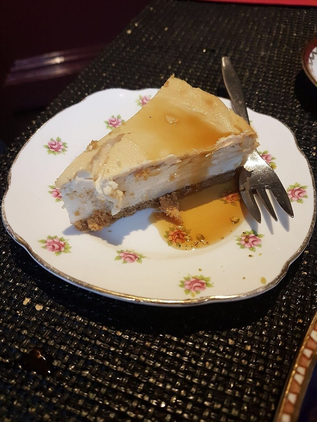 "Photo of The Kind Cake Co  by <a href=""/members/profile/katysarah"">katysarah</a> <br/>New York cheesecake with maple syrup  <br/> October 21, 2017  - <a href='/contact/abuse/image/65059/317436'>Report</a>"