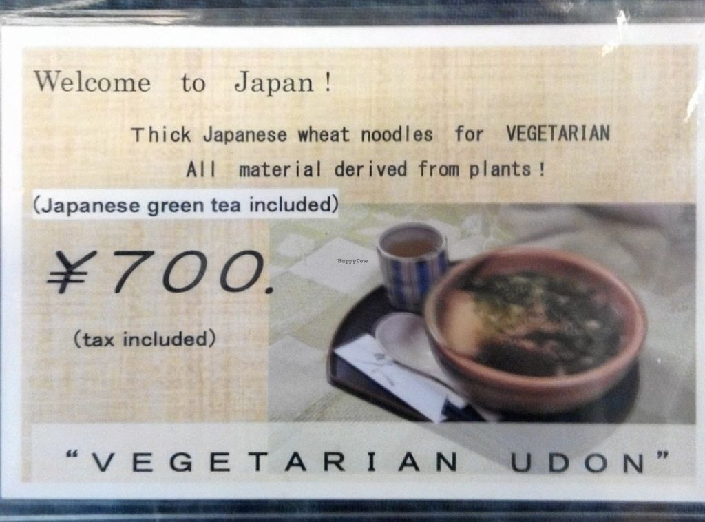 """Photo of Rokumeien  by <a href=""""/members/profile/LaiNamKhim"""">LaiNamKhim</a> <br/>The note on the table, clearly indicating it is made from plant ingredients <br/> October 28, 2015  - <a href='/contact/abuse/image/65065/122955'>Report</a>"""
