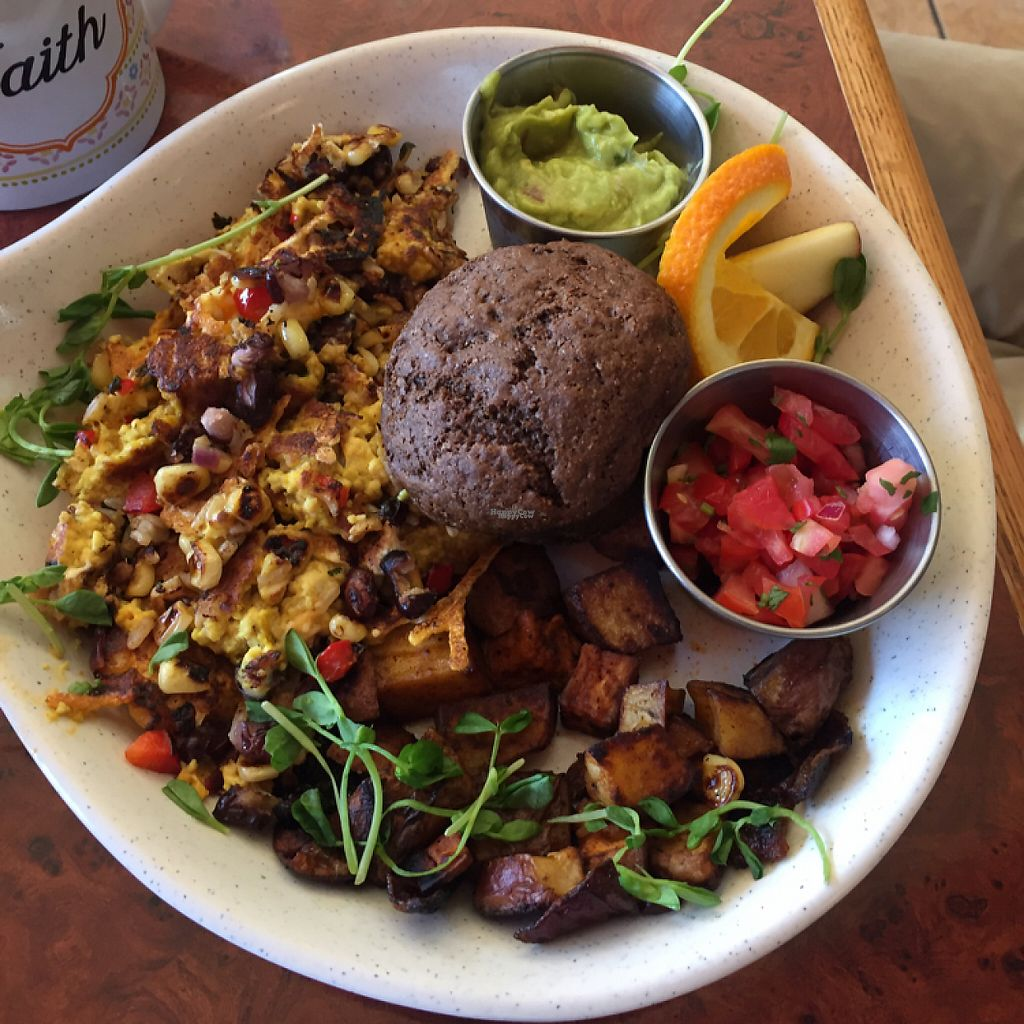 """Photo of Go Vegan Cafe  by <a href=""""/members/profile/AshleighWhitworth"""">AshleighWhitworth</a> <br/>Mexicali tofu scramble <br/> April 3, 2017  - <a href='/contact/abuse/image/65093/244390'>Report</a>"""