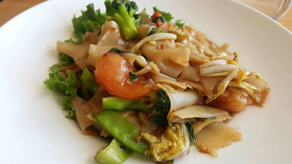 """Photo of Finn Thai  by <a href=""""/members/profile/Tots"""">Tots</a> <br/>Drunken Noodle - vegan <br/> March 13, 2018  - <a href='/contact/abuse/image/65109/370213'>Report</a>"""