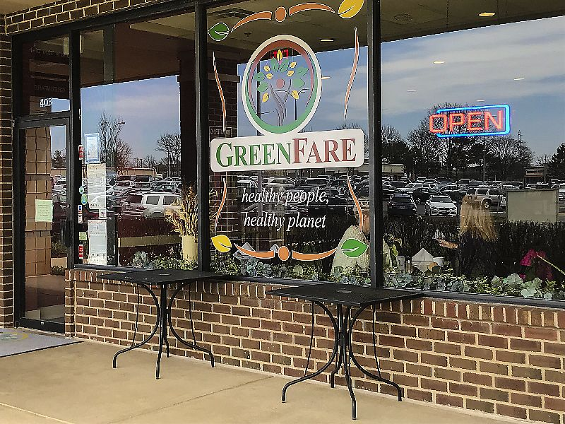 """Photo of GreenFare Organic Cafe  by <a href=""""/members/profile/LeighScott"""">LeighScott</a> <br/>GreenFare is a cozy restaurant with plenty of natural light <br/> April 9, 2018  - <a href='/contact/abuse/image/65180/383021'>Report</a>"""