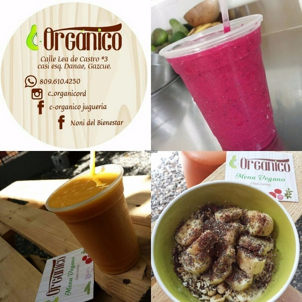 """Photo of C-Organico Juice Bar  by <a href=""""/members/profile/indipd"""">indipd</a> <br/>Juice <br/> August 1, 2016  - <a href='/contact/abuse/image/65190/164187'>Report</a>"""