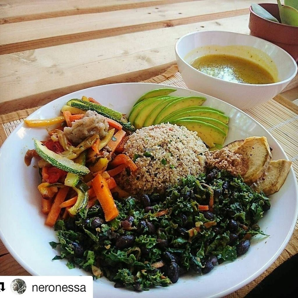 """Photo of C-Organico Juice Bar  by <a href=""""/members/profile/indipd"""">indipd</a> <br/>Lunch <br/> August 1, 2016  - <a href='/contact/abuse/image/65190/164189'>Report</a>"""