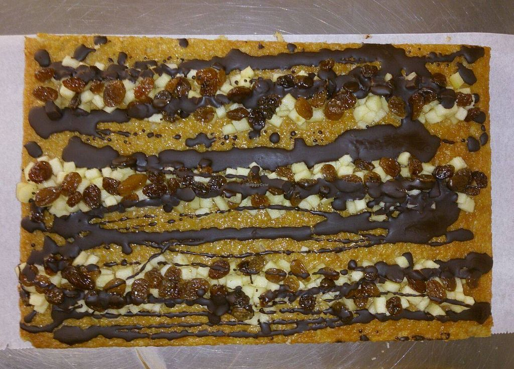 """Photo of Celikatessen  by <a href=""""/members/profile/Sery"""">Sery</a> <br/>Currytessen. Apple cake with curry, coconut, raisins and chocolate. Organic, gluten free, dairy free. Vegan option <br/> November 2, 2015  - <a href='/contact/abuse/image/65192/123494'>Report</a>"""