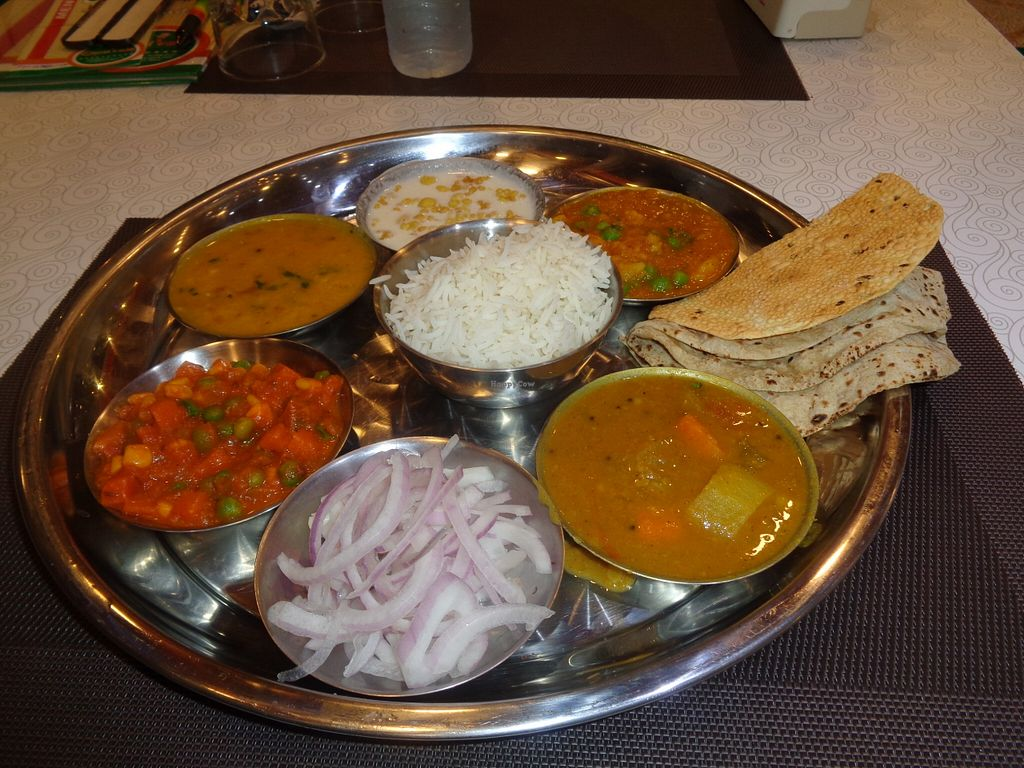 """Photo of Chotivala  by <a href=""""/members/profile/Kelly%20Kelly"""">Kelly Kelly</a> <br/>Choti Vala South style Thali <br/> February 23, 2016  - <a href='/contact/abuse/image/65194/137505'>Report</a>"""