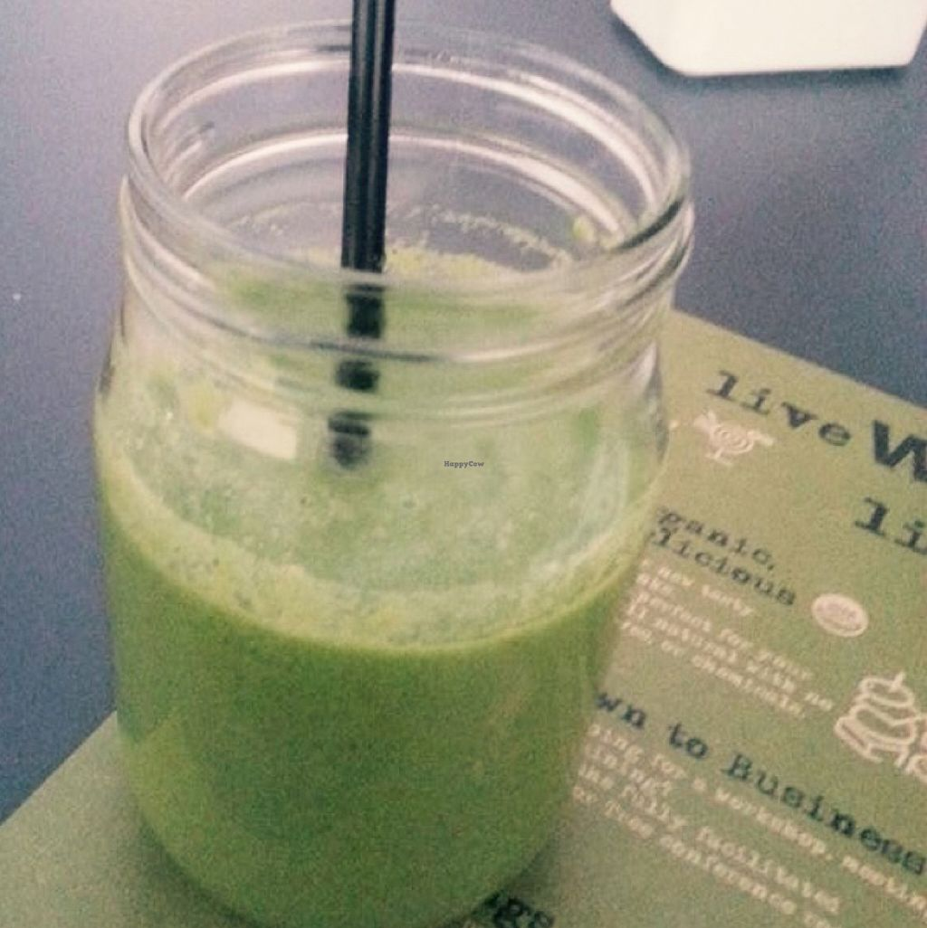 "Photo of Wild Jordan Cafe  by <a href=""/members/profile/Vera%20Peres"">Vera Peres</a> <br/>Green Goddess Smoothie <br/> November 2, 2015  - <a href='/contact/abuse/image/65253/123557'>Report</a>"