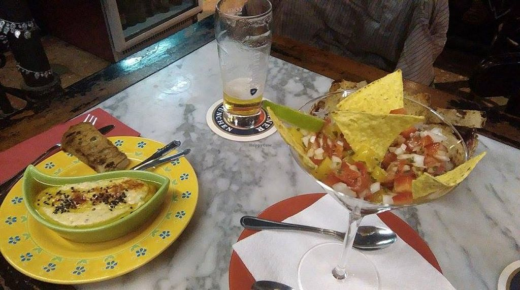 "Photo of Etnika's  by <a href=""/members/profile/kina"">kina</a> <br/>Hummus y ceviche de mango <br/> November 11, 2015  - <a href='/contact/abuse/image/65261/124636'>Report</a>"