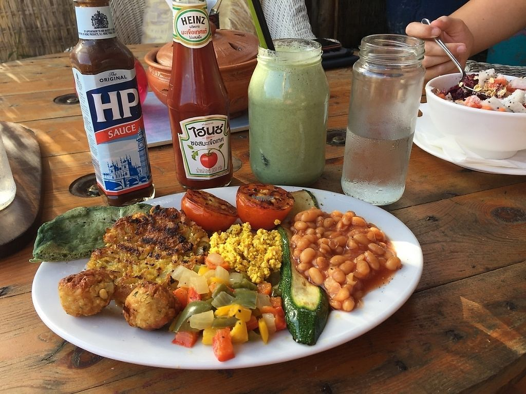 """Photo of CLOSED: Pachamama  by <a href=""""/members/profile/VeganTreeClimber"""">VeganTreeClimber</a> <br/>Healthy fry up <br/> January 18, 2017  - <a href='/contact/abuse/image/65281/212953'>Report</a>"""