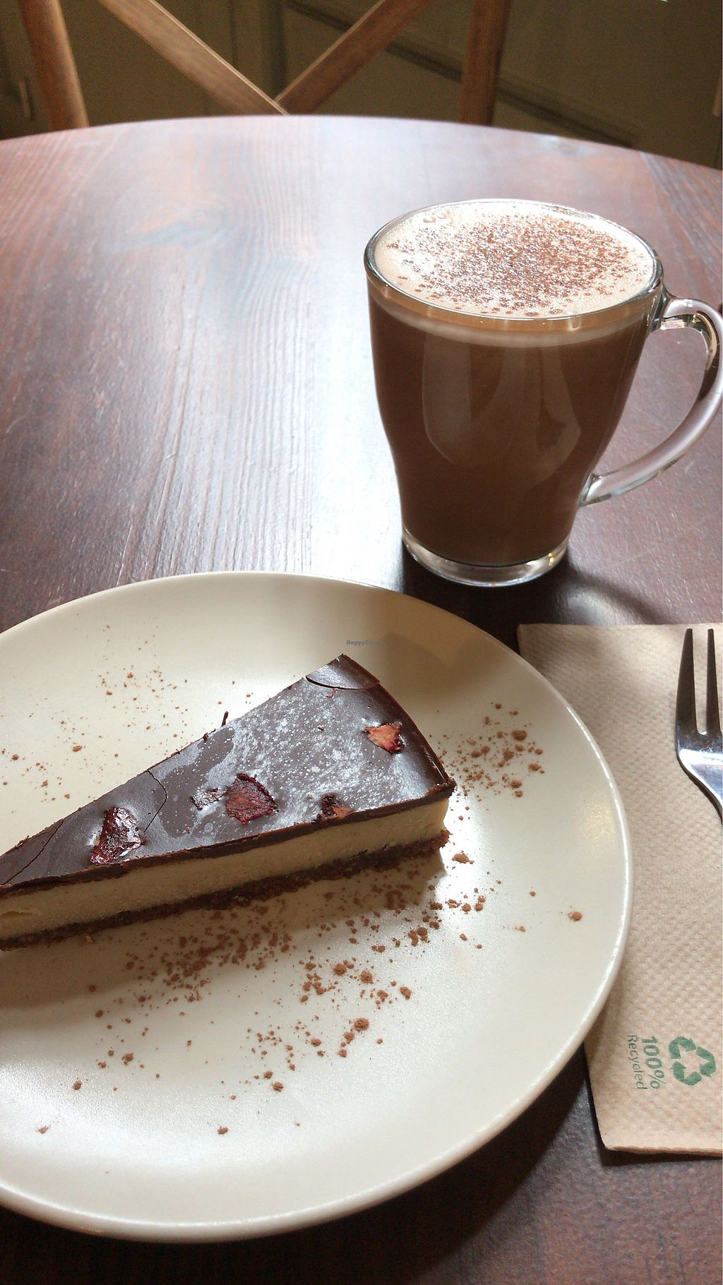 """Photo of Petit Brot - Cold Press, Raw, Eco  by <a href=""""/members/profile/Vivian"""">Vivian</a> <br/>Cake and Chocolate <br/> April 21, 2018  - <a href='/contact/abuse/image/65288/389034'>Report</a>"""