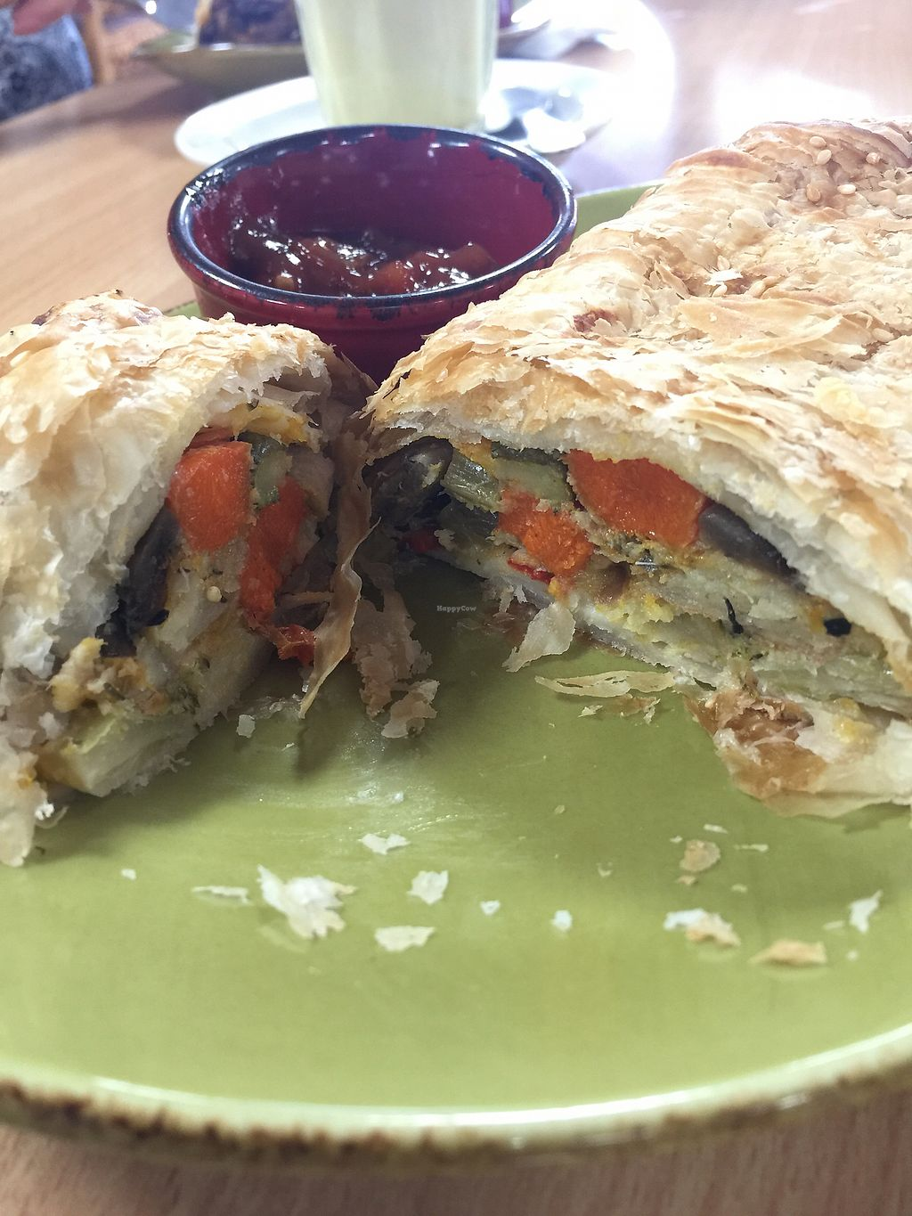 """Photo of Little Sheepish  by <a href=""""/members/profile/Mezz7"""">Mezz7</a> <br/>Vegan pastie and chutney  <br/> March 25, 2018  - <a href='/contact/abuse/image/65300/375746'>Report</a>"""