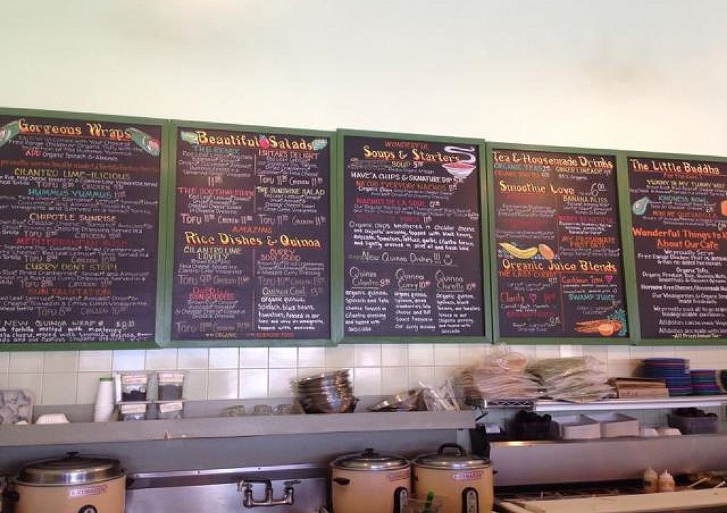 """Photo of Cafe del Soul  by <a href=""""/members/profile/AshleyLorden"""">AshleyLorden</a> <br/>menu board <br/> June 8, 2014  - <a href='/contact/abuse/image/6531/71634'>Report</a>"""