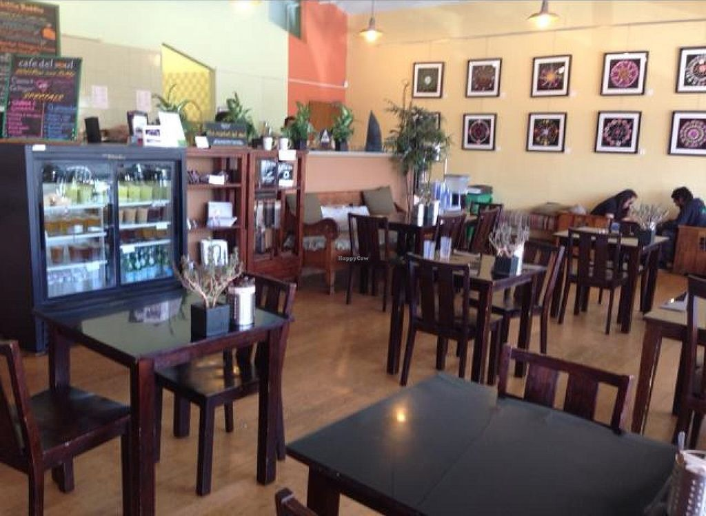 """Photo of Cafe del Soul  by <a href=""""/members/profile/AshleyLorden"""">AshleyLorden</a> <br/>indoor seating <br/> June 8, 2014  - <a href='/contact/abuse/image/6531/71635'>Report</a>"""