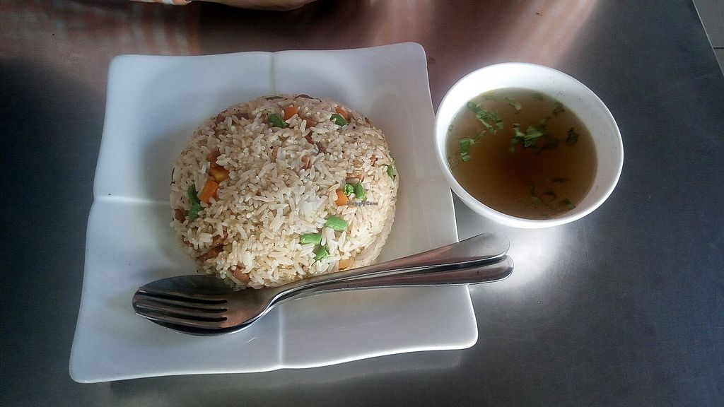 """Photo of Hsin Hao Vegetarian  by <a href=""""/members/profile/Seksan"""">Seksan</a> <br/>Fried Rice <br/> December 16, 2017  - <a href='/contact/abuse/image/65323/336019'>Report</a>"""