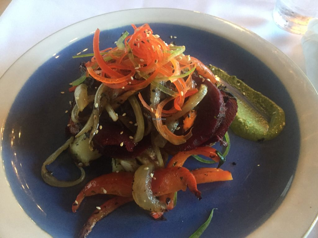 """Photo of The Nomad Cafe  by <a href=""""/members/profile/Alexadhenn"""">Alexadhenn</a> <br/>vegan beet steak  <br/> June 24, 2016  - <a href='/contact/abuse/image/65326/155961'>Report</a>"""