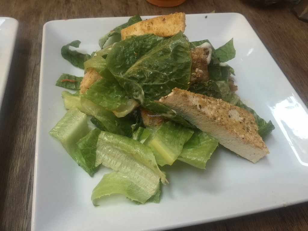 """Photo of Lentil As Anything - Thornbury  by <a href=""""/members/profile/Tiggy"""">Tiggy</a> <br/>Vegan Caesar salad - March 2016 <br/> March 31, 2016  - <a href='/contact/abuse/image/65328/142037'>Report</a>"""