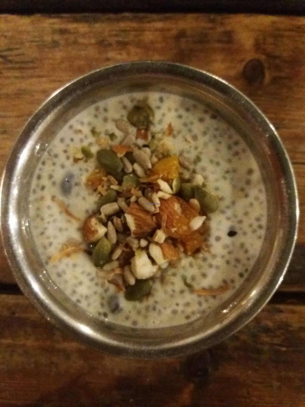 """Photo of Lentil As Anything - Thornbury  by <a href=""""/members/profile/veganvirtues"""">veganvirtues</a> <br/>Tapioca pudding <br/> October 15, 2017  - <a href='/contact/abuse/image/65328/315670'>Report</a>"""