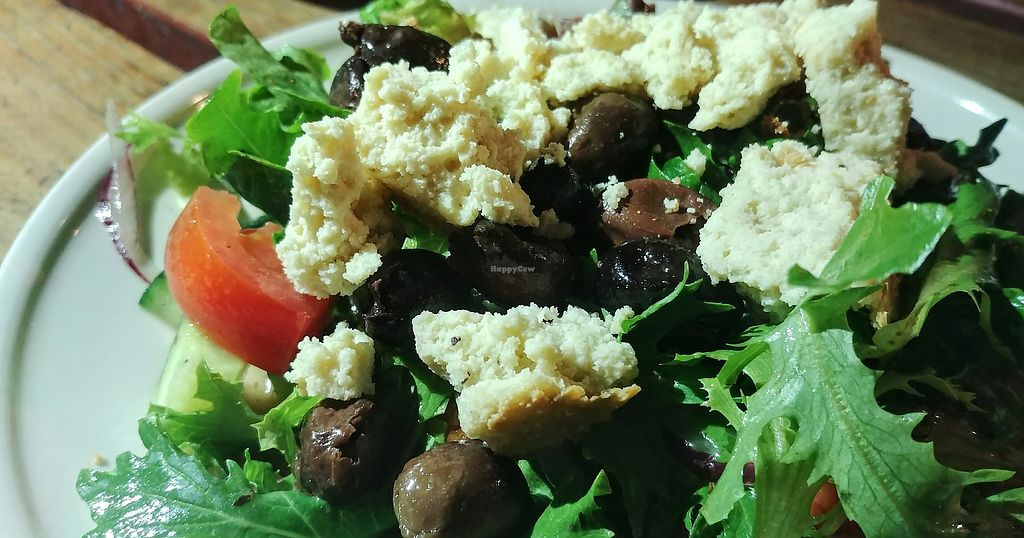 """Photo of Lentil As Anything - Thornbury  by <a href=""""/members/profile/karlaess"""">karlaess</a> <br/>Greek salad <br/> April 12, 2018  - <a href='/contact/abuse/image/65328/384777'>Report</a>"""