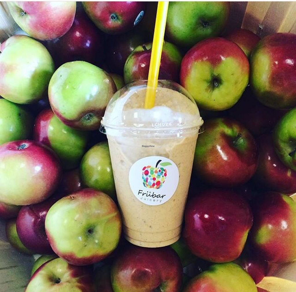 """Photo of Frubar Juicery  by <a href=""""/members/profile/SarahTellier"""">SarahTellier</a> <br/>Fall spices smoothie <br/> November 3, 2015  - <a href='/contact/abuse/image/65333/123769'>Report</a>"""