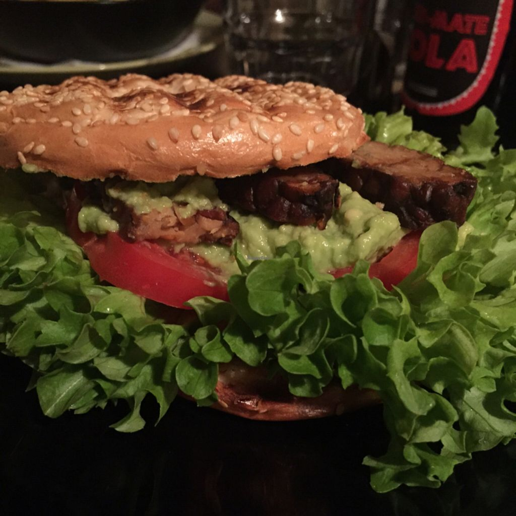 """Photo of Blatouch  by <a href=""""/members/profile/LiatLevy"""">LiatLevy</a> <br/>Avocado and grilled tempeh bagel <br/> April 11, 2016  - <a href='/contact/abuse/image/65338/144013'>Report</a>"""