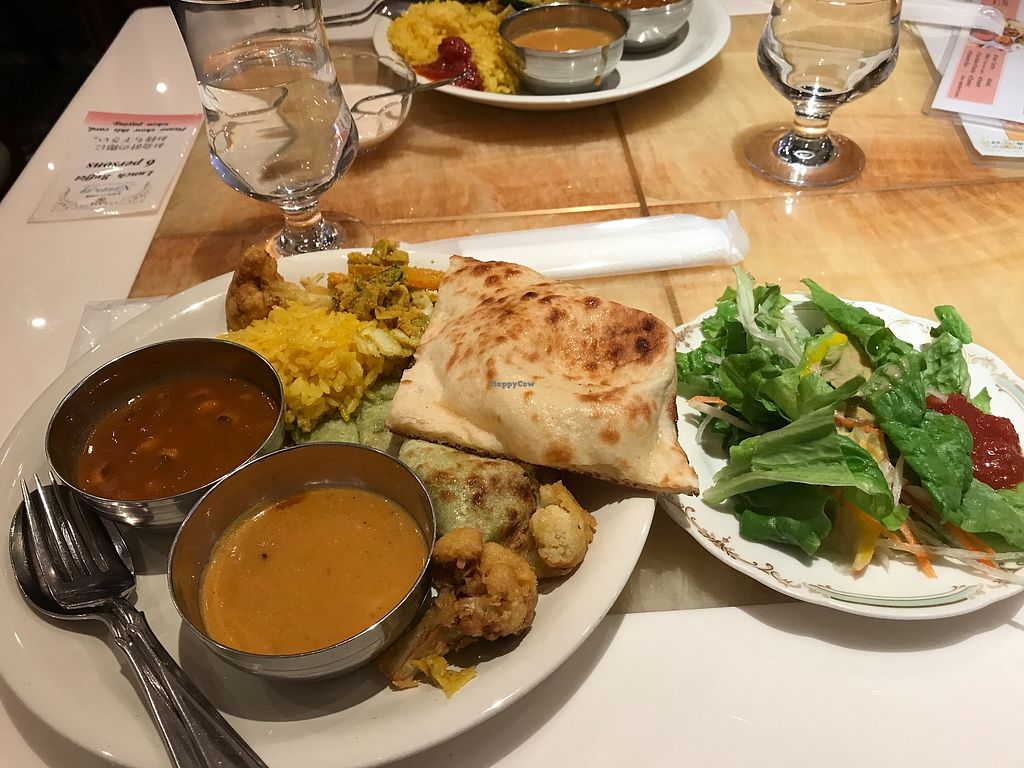 """Photo of Milan Nataraj Shibuya  by <a href=""""/members/profile/FlyNg"""">FlyNg</a> <br/>They have vegan naan, green colour which is nicer than the normal one <br/> March 21, 2018  - <a href='/contact/abuse/image/65365/373800'>Report</a>"""